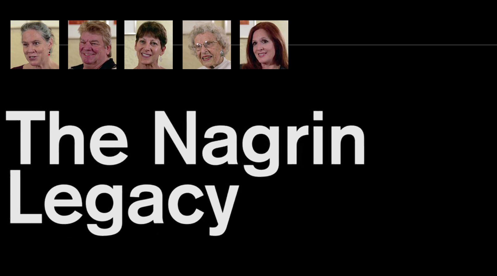 Nagrin Legacy title screen