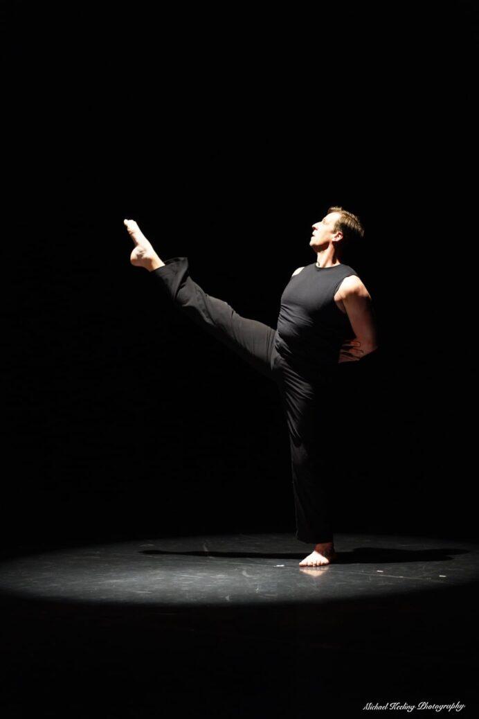 Donald Laney in Spanish Dance