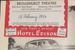 Broadhurst Theatre Ticket Info