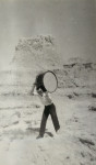 Early Career Nagrin Badlands With Drum 1954