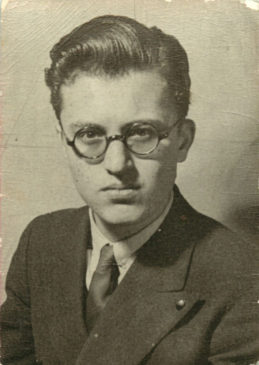 Early Career Nagrin Portrait With Glasses