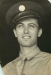 Early Career Nagrin WW II Military Portrait Looking Up 2