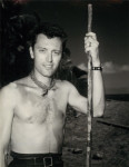 Fiji His Majesty OKeefe Nagrin Portrait Without Shirt