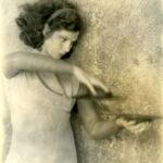 Helen Tamiris With Cymbals by Doris Ulman
