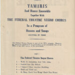 How Long Brethren WPA Playbill Title Page w Production Part 1