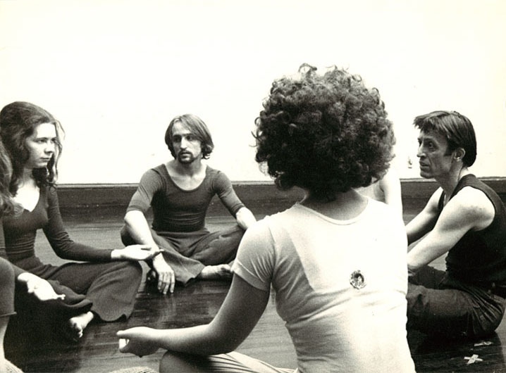 Nagrin Workgroup 1970 Sitting In Circle