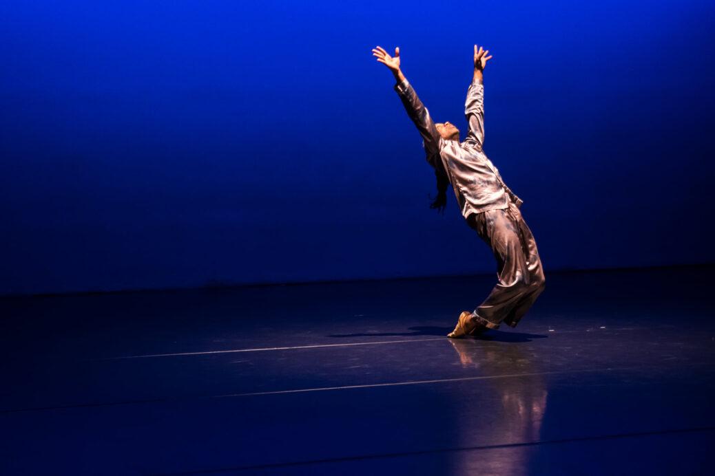 Paul Dennis in Indeterminate Figure, Robert Pfiefer Photo