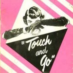 Touch and Go Playbill Cover